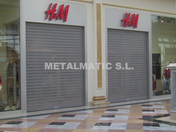 Cierres Aluminio Microperforados