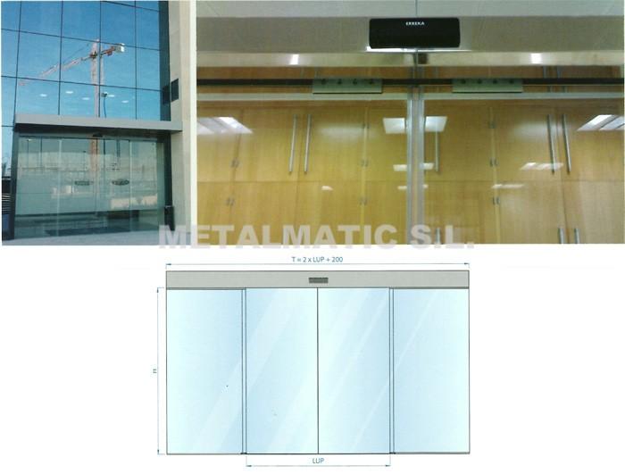 Metalmatic puertas cristal corredera metalmatic - Medidas de puertas correderas ...